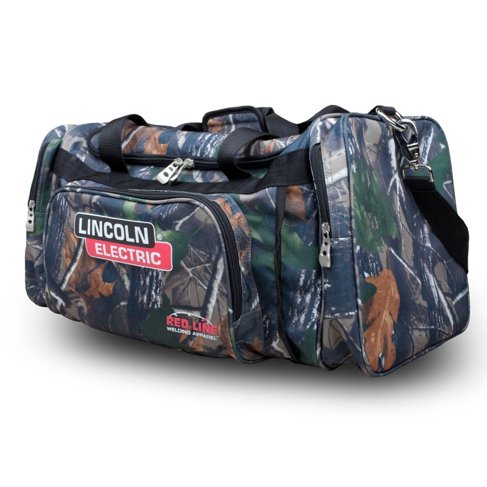 Lincoln Electric Welder's Duffle Bag in Camouflage