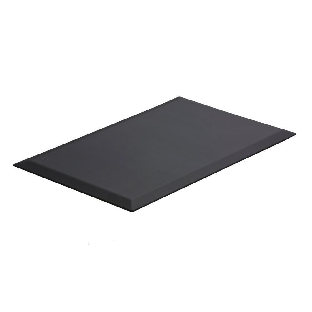 Imprint Comfort Mats CumulusPro Commercial Grade 24 Inch x 36 Inch x 3/4 Inch Black