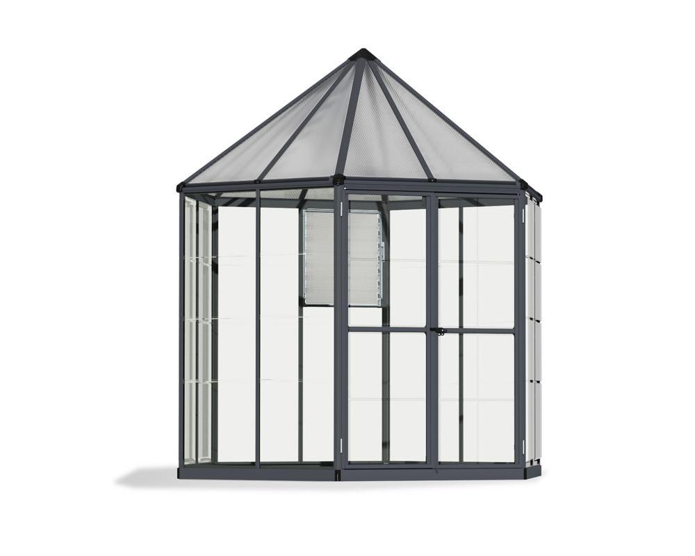 8 Feet Oasis Hex Greenhouse