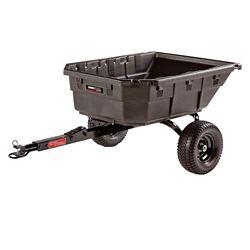 Ohio Steel 15 pi³ poly pivotant hybride tracteur/ATV Cart, 1250 lb. capacité