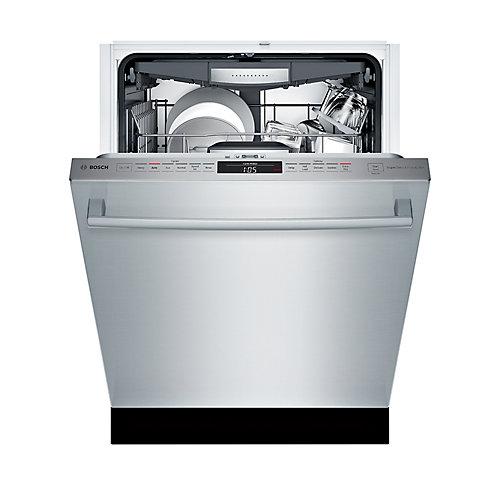 Série 800  Lave-vaisselle de 24 po avec poignée saillante  42 dBA  3e panier polyvalent