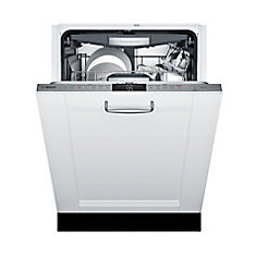 800 Series - 24 inch Custom Panel Dishwasher - 42 dBA - Flexible 3rd Rack