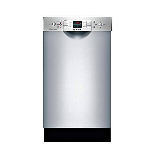Série 300  Lave-vaisselle de 18 po avec poignée encastrée  46 dBA  Conformité A.D.A.