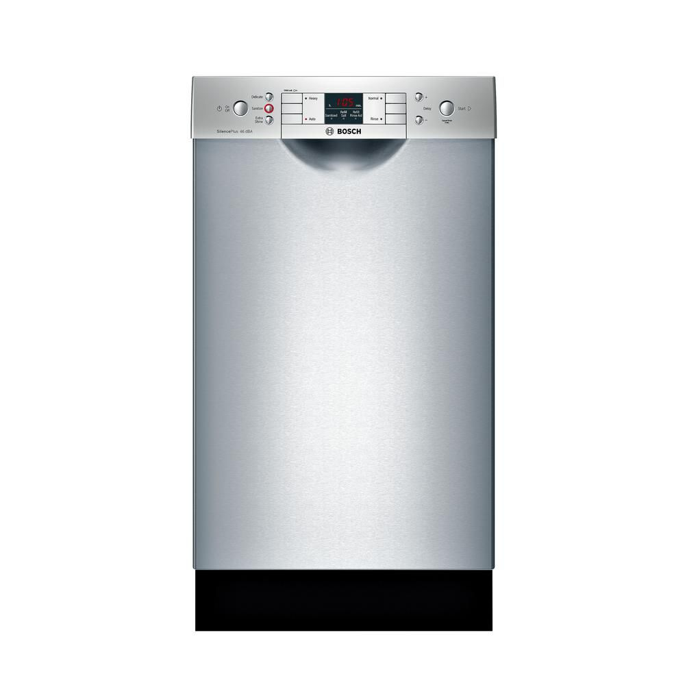 Bosch 300 Series - 18 inch Dishwasher w/ Recessed Handle - 46 dBA - ADA Compliant