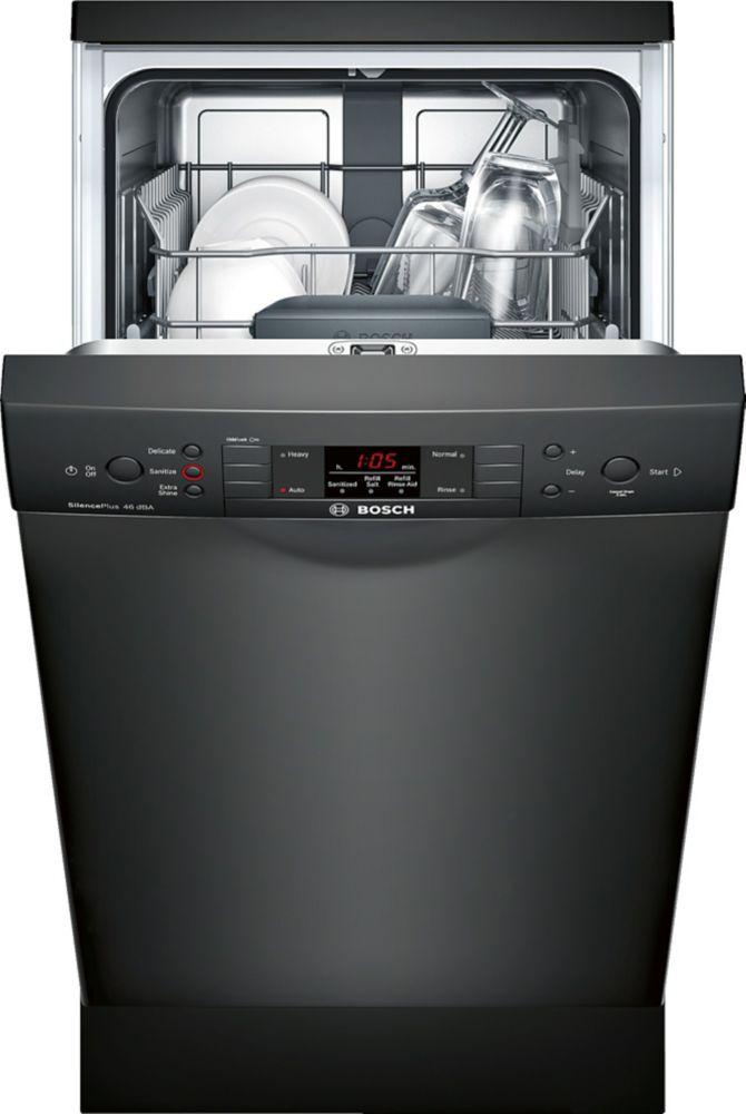 Bosch 300 Series - 18 inch Dishwasher w/ Recessed Handle - 46 dBA - ADA Compliant