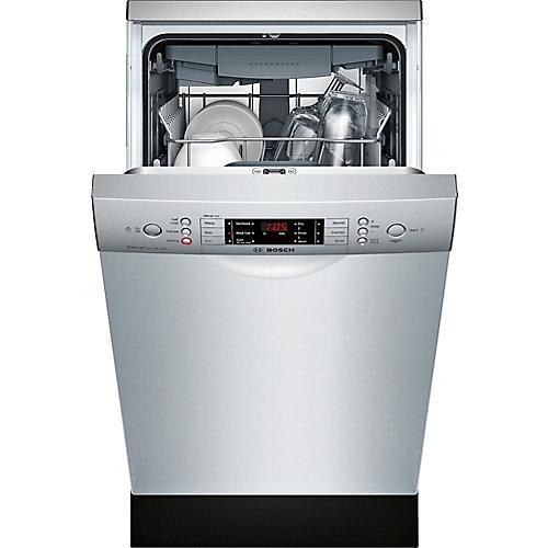 Série 800  Lave-vaisselle de 18 po avec poignée encastrée  44 dBA  Conformité A.D.A.