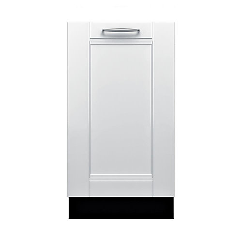Série 800  Lave-vaisselle de 18 po à panneau personnalisé  44 dBA  Conformité A.D.A.
