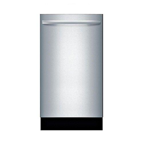 Série 800  Lave-vaisselle de 18 po avec poignée saillante  44 dBA  Conformité A.D.A.