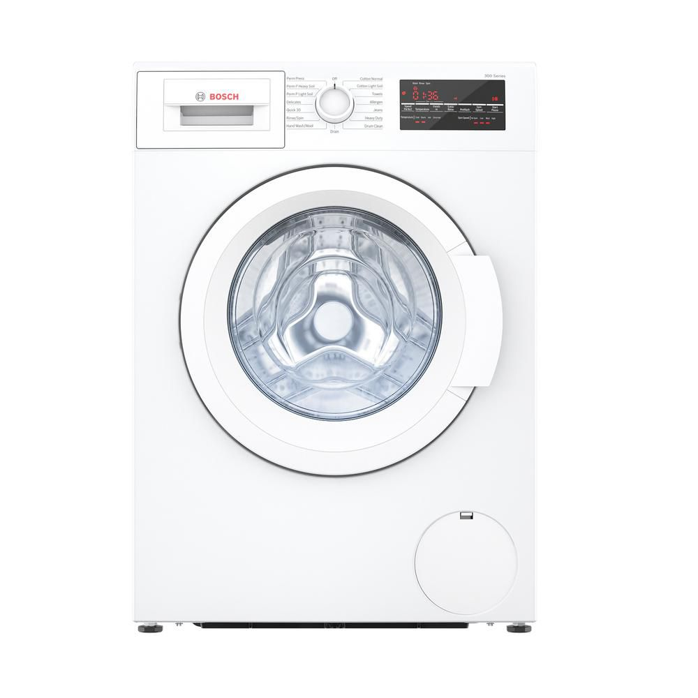 Bosch 300 Series - 24 inch Compact Washer - Plugs Into Dryer (See Installation Manual) - ENERGY STAR®