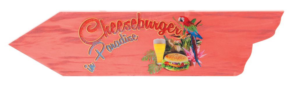 Margaritaville Directional Signs - Cheeseburger Paradise