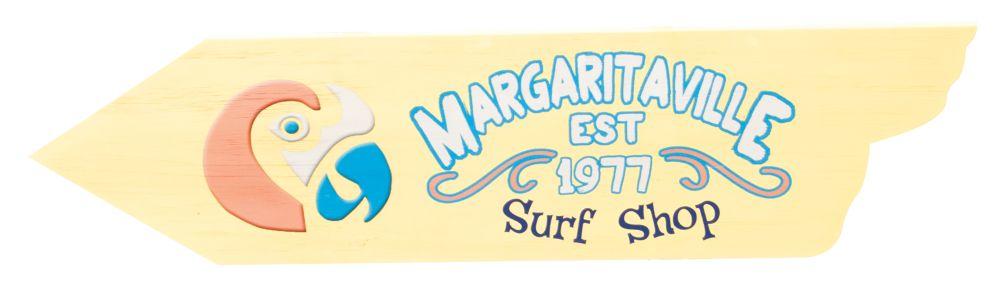 Margaritaville Directional Signs - Surf Shop