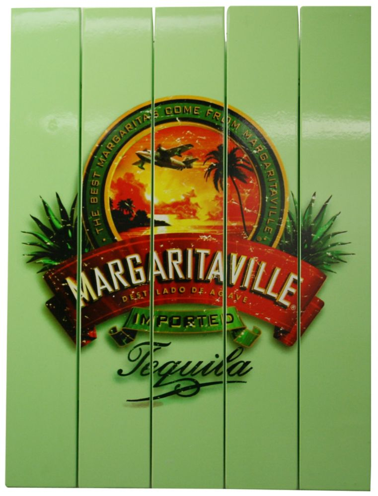 "Margaritaville Outdoor Rectangle Sign ""Tequila"""