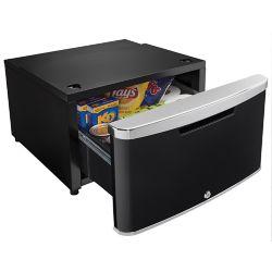 Danby ELEV8 Contemporary Classic Storage - Compact Fridge Pedestal - Midnight Metallic Black