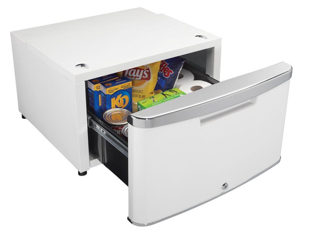 Danby ELEV8 Contemporary Classic Storage - Compact Fridge Pedestal - Metallic White Pearl