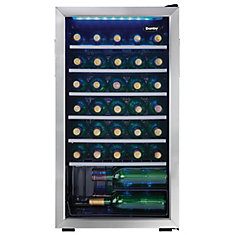 Refroidisseurs à Vin en Acier Inoxydable de 36 Bouteilles