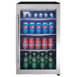 Danby 4.3 cu. Feet Stainless Steel Beverage Centre