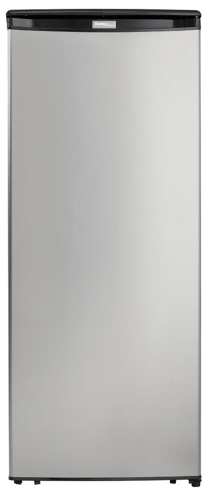 Danby 8.5 cu. ft. Upright Freezer in Spotless Steel (Energy Star)