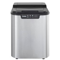 Danby 2 lb. Freestanding Ice Maker in Stainless Steel