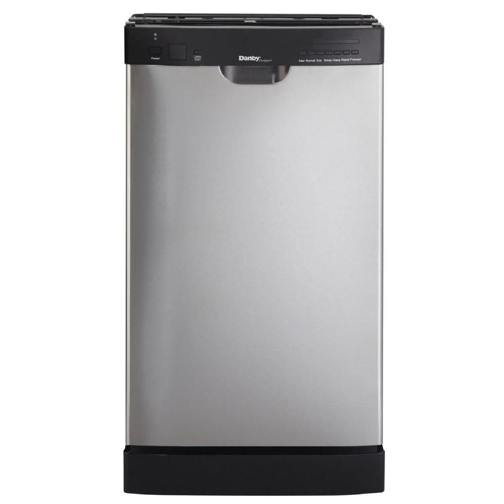 18 Inch Built-In Stainless Steel Dishwasher