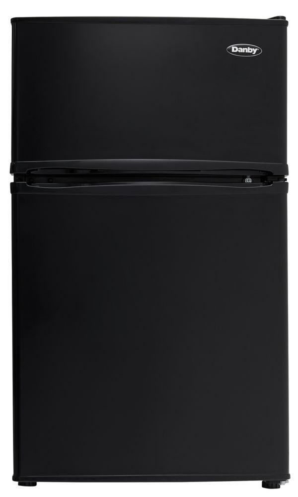 3.2 cu. Feet Dual Door Compact Refrigerator