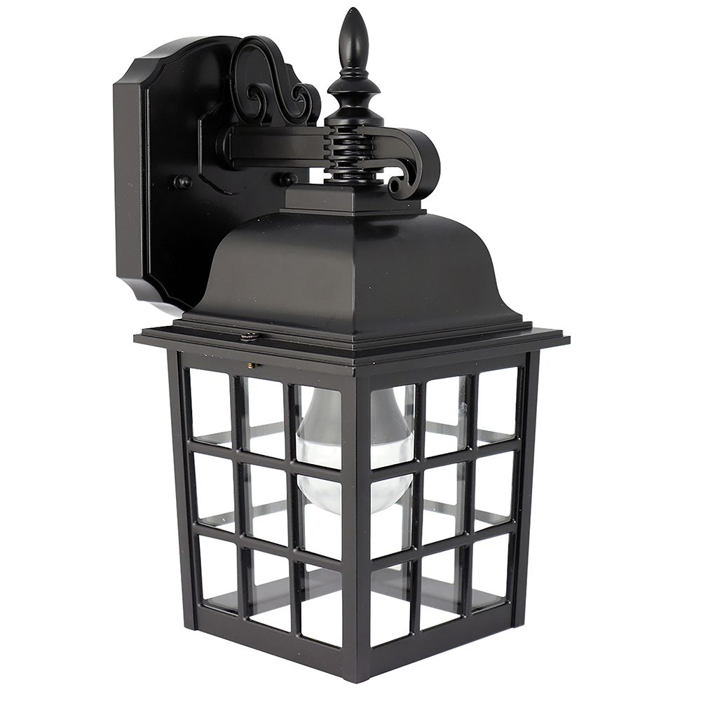 Feit Electric 6-inch 2700K Warm White LED Lantern in Black (2-Pack)