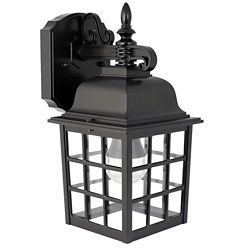 Feit Electric 6-inch 2700K Warm White LED Lantern in Black (2-Pack)