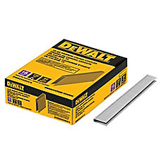 3/4-inch x 7/32-inch 18-Gauge Glue Collated Narrow Crown Staples
