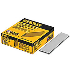 1 1/2-inch Leg x 7/32-inch 18-Gauge Glue Collated Bright Steel Staples
