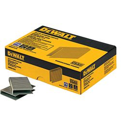 DEWALT 1/2-inch x 2-inch15.5-Gauge Crown Glue Collated Flooring Staple (1,000 per Box)