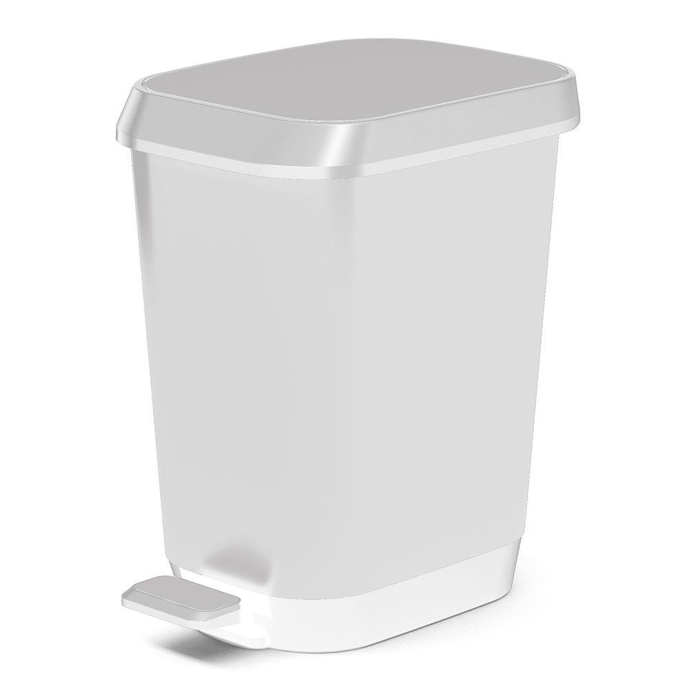 HDX 26L Quadro Waste Bin, White