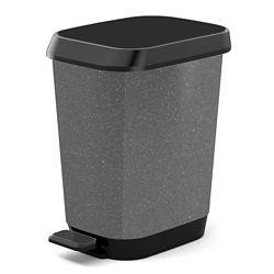 HDX 26L Quadro Waste Bin, Granite