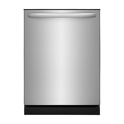 24-inch Dishwasher in Stainless Steel with Polymer Tub and OrbitClean Spray Arm - ENERGY STAR®