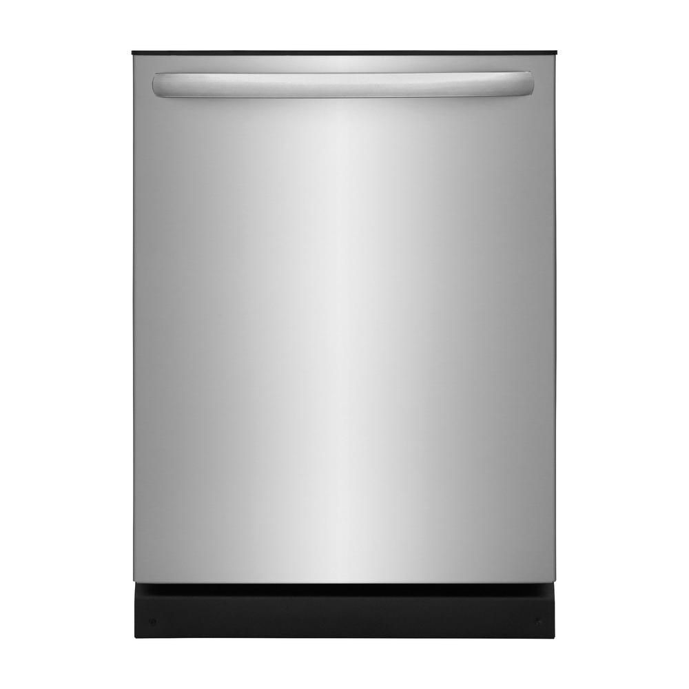 Frigidaire 24 inch Built-In Dishwasher in stainless steel