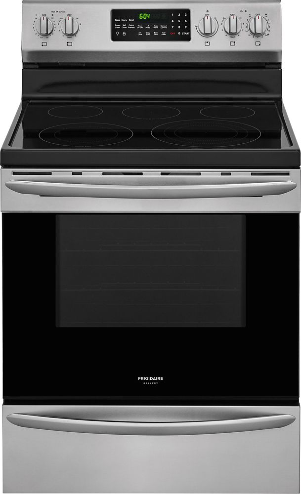 Gallery 30-inch Freestanding Electric Range in Stainless Steel