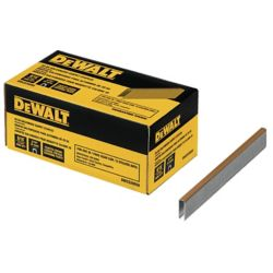 DEWALT 20-Gauge 9/16 inch L Galvanized Carpet Staples (5,000-Box)