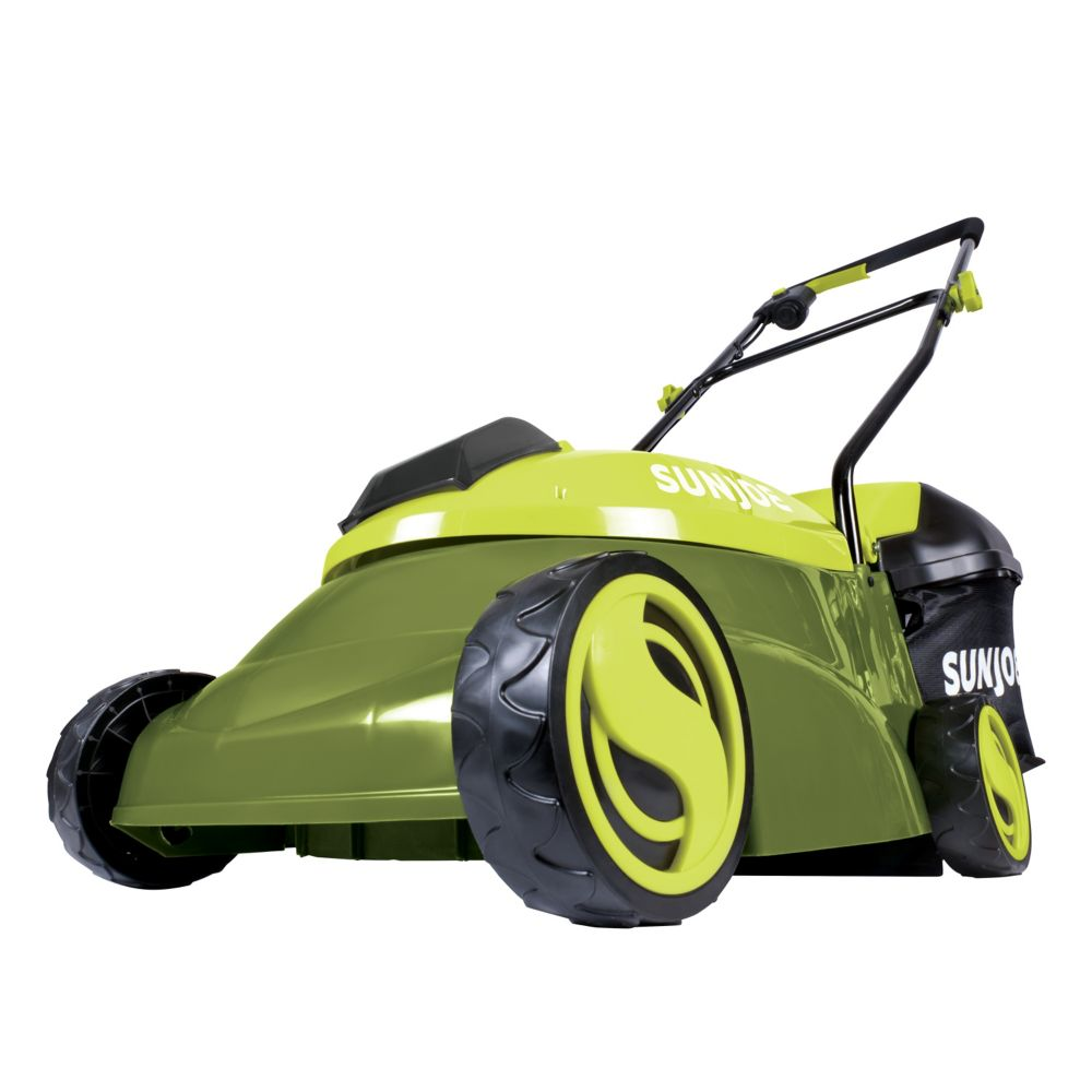 Sun Joe Mow Joe 14 Inch Electric Lawn Mower With 3 Height