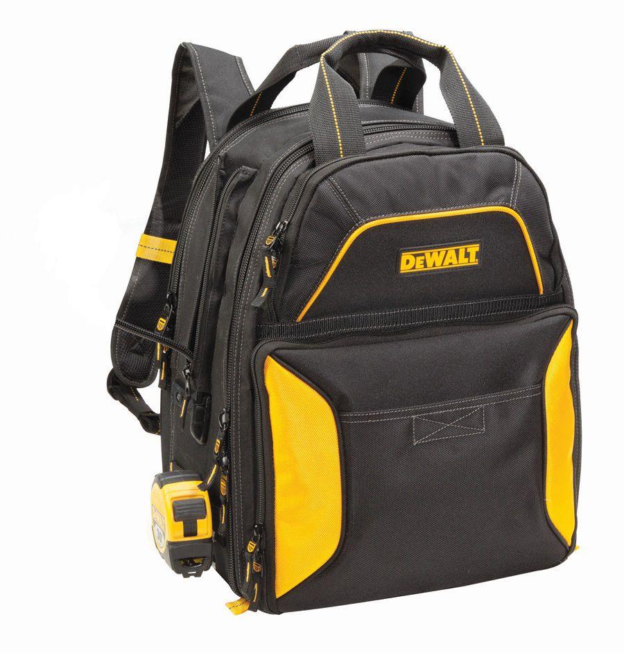 DEWALT 33 Pocket USB Charging Tool Backpack (no Light)