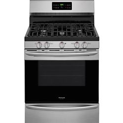 Frigidaire Gallery 30 inch Freestanding Gas Range in Smudge-Proof Stainless Steel