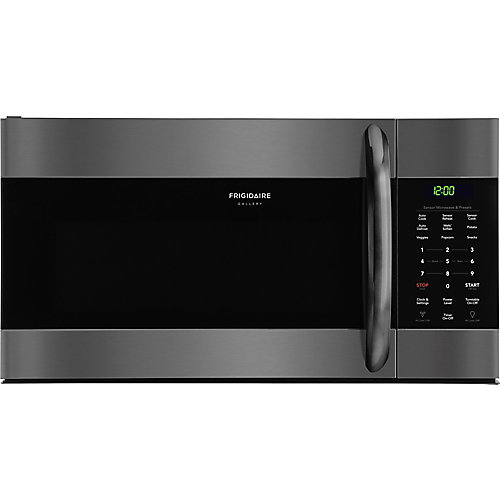 30-inch W 1.7 Cu. Ft. Over the Range Microwave in Black Stainless Steel