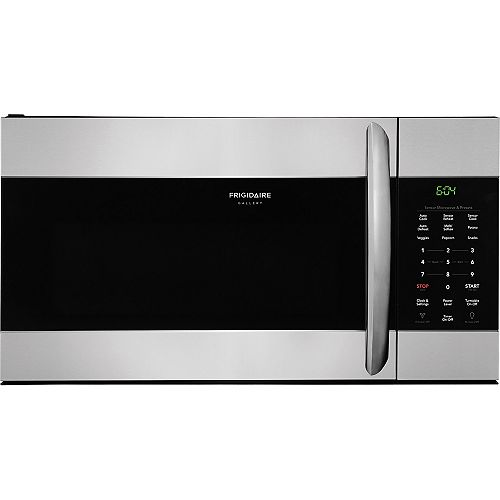 Frigidaire 30-inch W 1.7 Cu. Ft. Over the Range Microwave in Smudge-Proof Stainless Steel