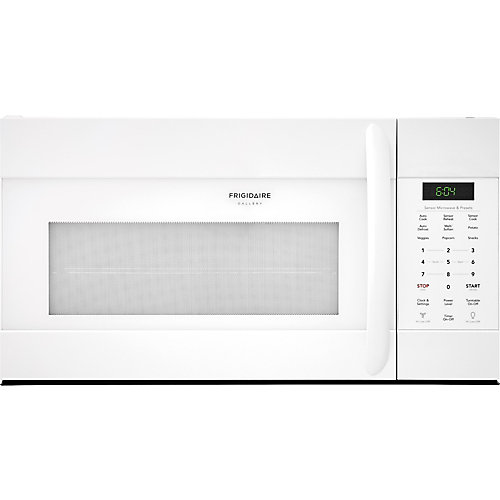 """Frigidaire Gallery 30"""" Over the Range Microwave in White"""
