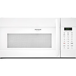 Frigidaire 30-inch W 1.7 cu. ft. Over the Range Microwave in White