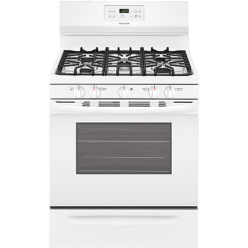 30 inch Self-Cleaning Freestanding Gas Range in White