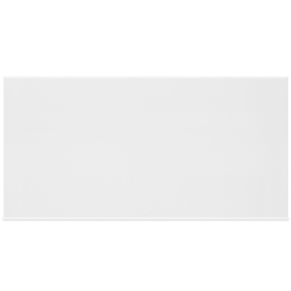 12-inch x 24-inch Metro Rectified White Gloss Wall Tile