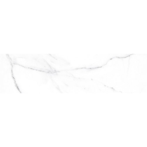 4-inch x 16-inch Soho Statuario Gloss Wall Tile