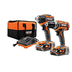 GEN5X 18V Lithium-Ion Brushless Cordless Drill/Driver and Impact Driver Combo Kit (2-Tool)