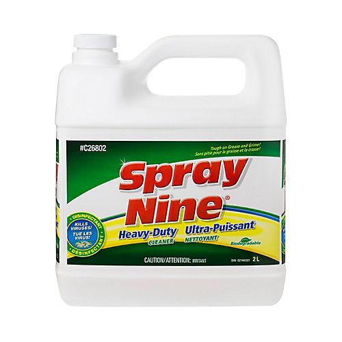 Nettoie/Desinfecte 2L