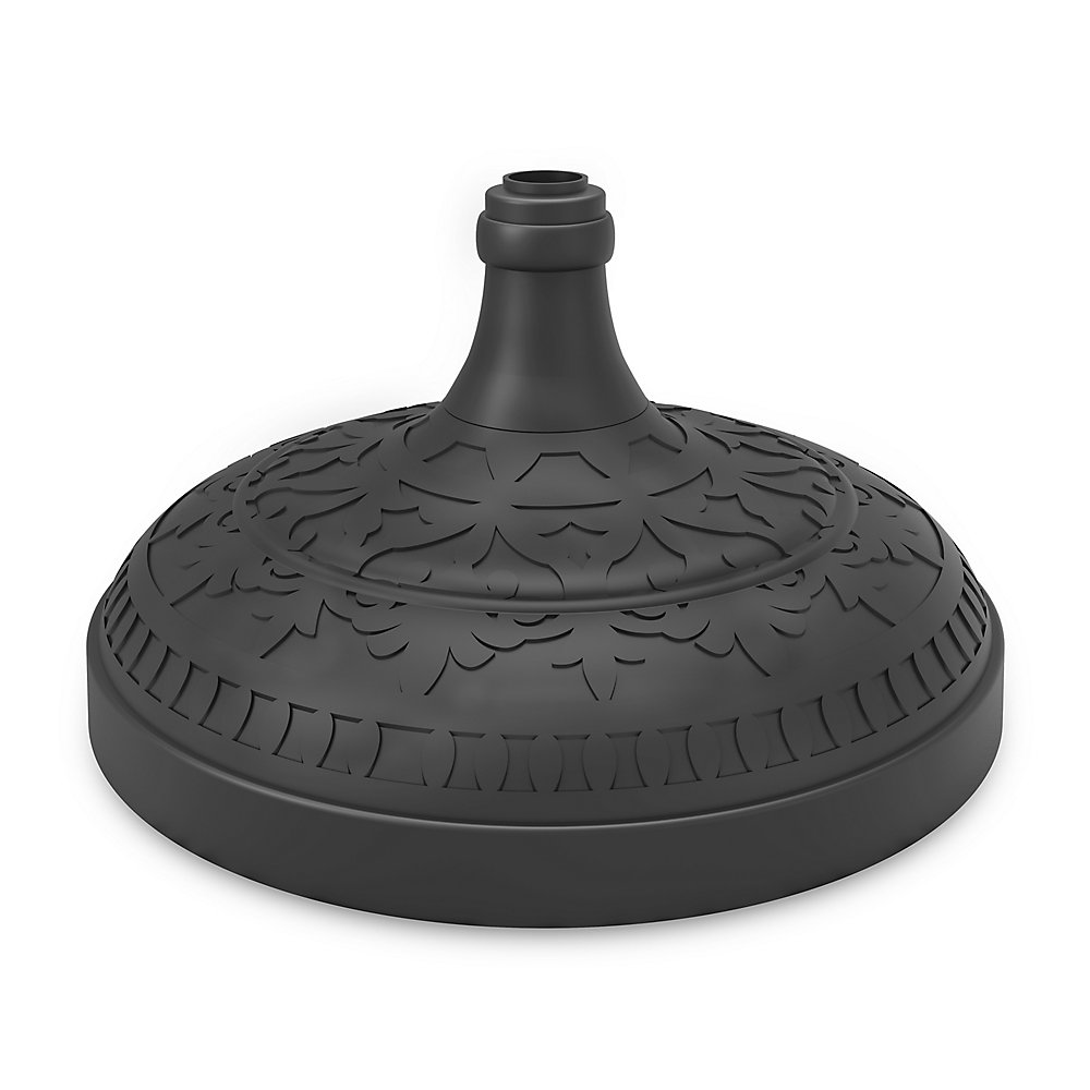 20 inch Round Scroll Top Umbrella Stand