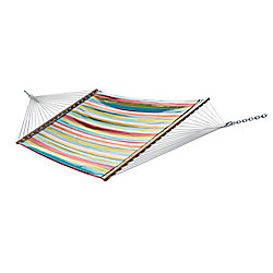 Vivere Ciao Quilted Fabric Double Hammock