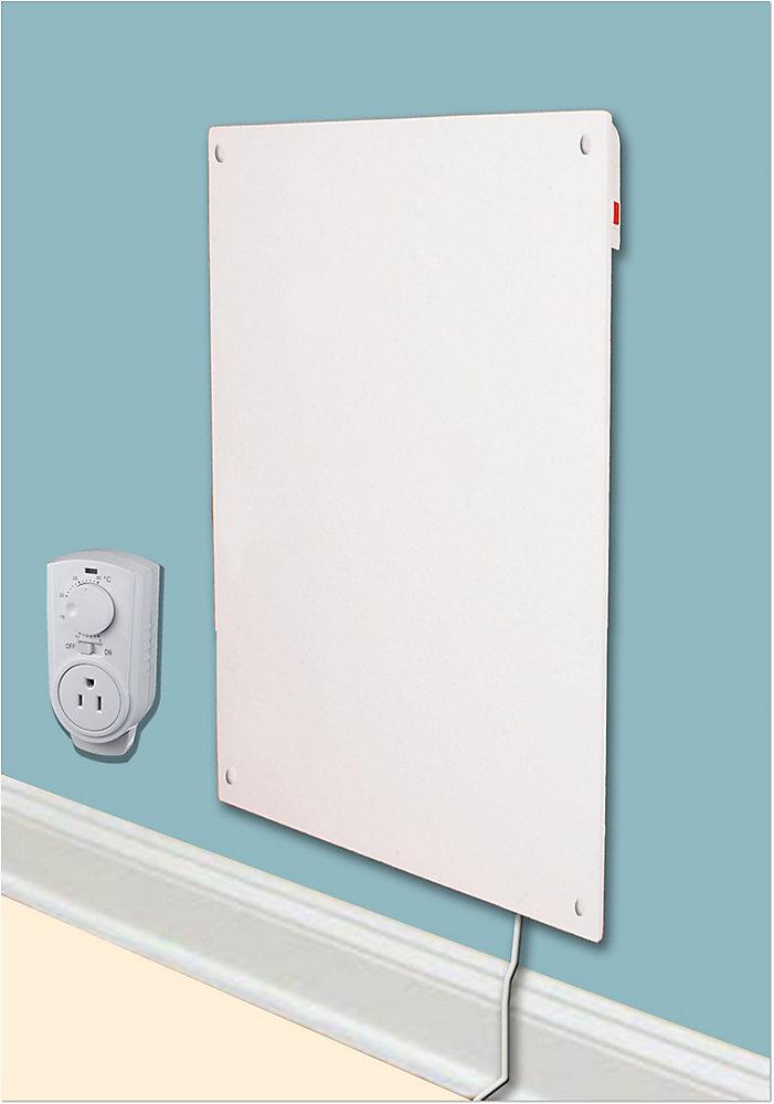 Céramique Chauffage 600W Panneau muralavec thermostat
